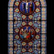 Stained-glass window — Stock Photo #1803390