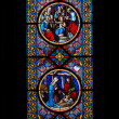 Stained-glass window — Stock Photo #1803394