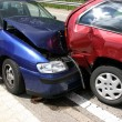 Foto Stock: Car accident