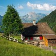 Stock Photo: Vacation house in mountains