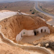Stock Photo: Troglodyte dwelling in Tunisia