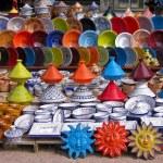 Traditional Tunisian pottery — Stock Photo #1804173