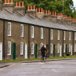 Row of characteristic english houses — Stok Fotoğraf #1804384