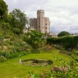 Stock Photo: Garden in the Windsor Castle