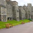 Stock Photo: Walls of the Windsor Castle