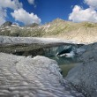Stock Photo: Rhone glacier, Switzerland
