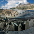 Rhone glacier panorama (Switzerland) — Stock Photo #1805606