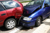 Car accident — Stockfoto