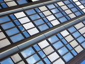Detalle de un moderno edificio — Foto de Stock