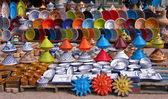 Traditional Tunisian pottery — Stock Photo