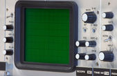 Oscilloscope closeup — Stock Photo