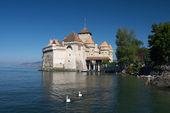 Château de chillon, Suíça — Fotografia Stock