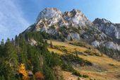 Autumn landscape in Jura — Stock Photo