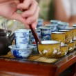 Tea ceremony — Stock Photo