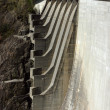 Detail of Verzasca dam - Stock Photo
