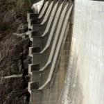 Detail of Verzasca dam — Stock Photo #1891593