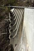 Detail of Verzasca dam — Stock Photo