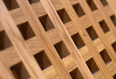 Wooden grating — Stock Photo