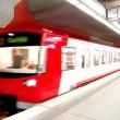 Underground Train — Stock Photo