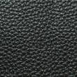 Black Leather Background Texture - Stock Photo