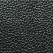 Black Leather Background Texture — Stock Photo