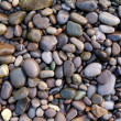 Marine wet pebbles of different colors — Stock Photo