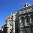 Florence - Duomo and Baptistery — Stock Photo #2232970