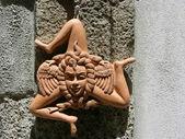 Simbolo sicilia — Foto Stock