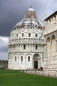 Pisa - Duomo and Baptistery — Stock Photo