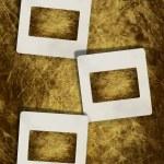 Vintage slide photo frames — Stock Photo
