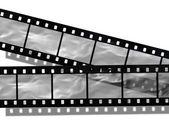 Blank film strip — Stock Photo