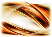 Dynamic fiery motion — Stock Photo