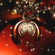 Stock Photo: Sparkling red ornament