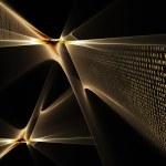 Binary code data flow — Stock Photo #1802027