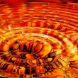 Stock Photo: Molten lavripples