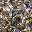 Underwater pebble texture — Stock Photo