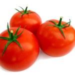 Fresh tomato isolated — Stock Photo