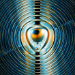 Stock Photo: Magnetic field