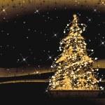 抽象的なクリスマス ツリー — ストック写真
