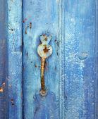 Eski paslı kilit — Stok fotoğraf