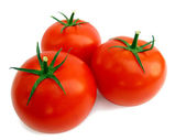 Fresh tomato isolated — Stock Photo