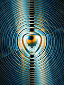 Magnetic field — Stockfoto