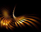 Golden rays — Stock Photo
