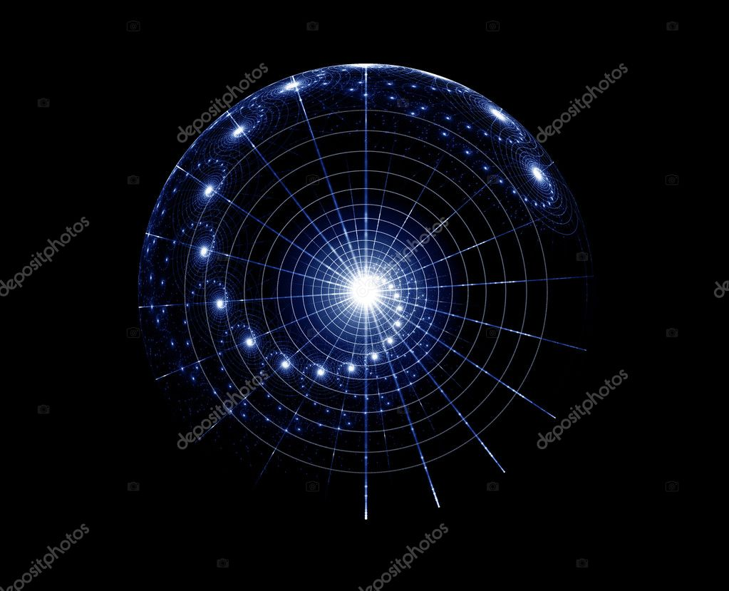 Space fantasy, imaginary star chart, abstract  background  Foto Stock #1803357