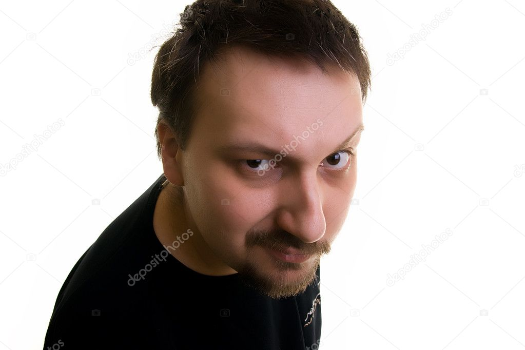 Man stare — Stock Photo #1897444
