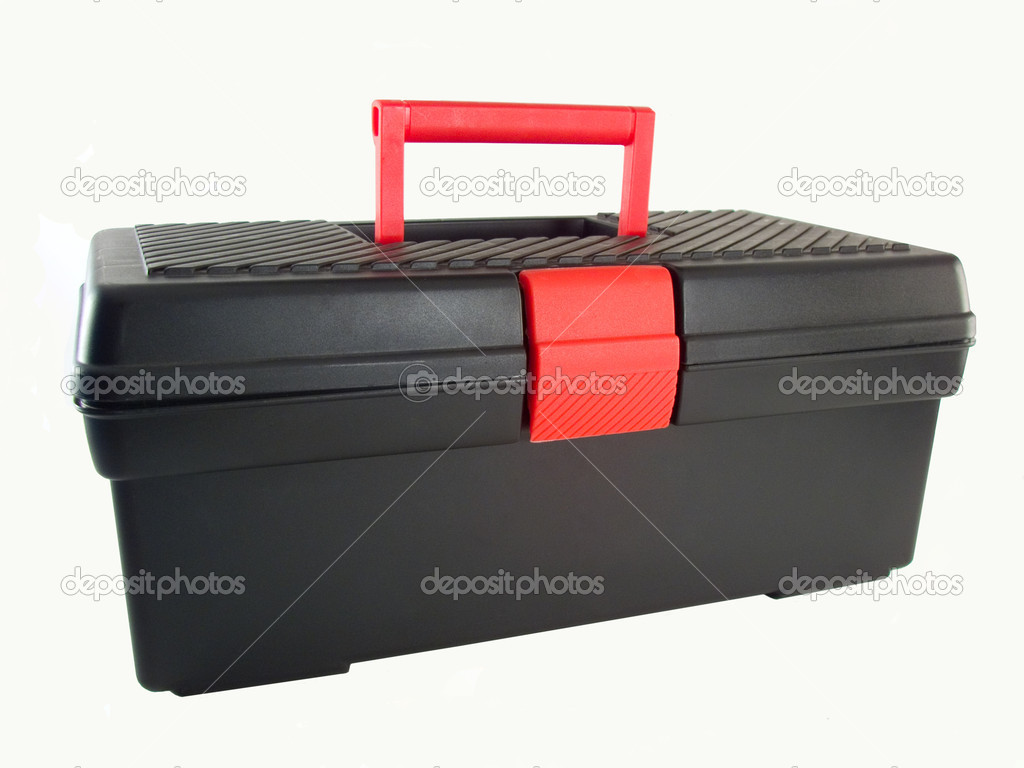 Black tool box  Stock Photo #1909550