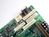 Motherboard AT-ATX — Stock Photo