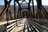 CONVERTED BRIDGE — Stock Photo