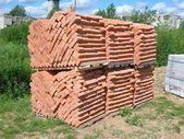 Brick clamp — Stock Photo