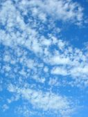 White clouds in the sky — Stock Photo